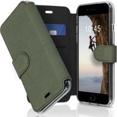 Accezz Xtreme Wallet Booktype iPhone SE (2020) / 8 / 7 - Lichtgroen
