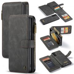 CaseMe Luxe 2 in 1 Portemonnee Booktype Samsung Galaxy S21