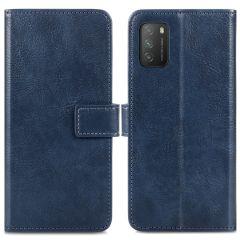 iMoshion Luxe Booktype Xiaomi Poco M3 - Donkerblauw