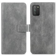 iMoshion Luxe Booktype Xiaomi Poco M3 - Grijs