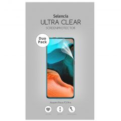 Selencia Duo Pack Ultra Clear Screenprotector Xiaomi Poco F2 Pro