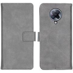 iMoshion Luxe Booktype Xiaomi Poco F2 Pro - Grijs