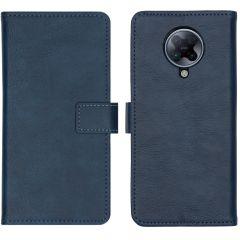iMoshion Luxe Booktype Xiaomi Poco F2 Pro - Donkerblauw