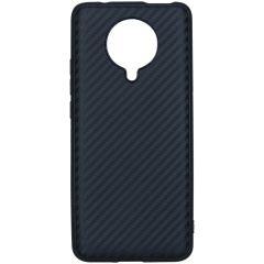 Carbon Softcase Backcover Xiaomi Poco F2 Pro - Zwart