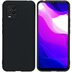 iMoshion Color Backcover Xiaomi Mi 10 Lite - Zwart