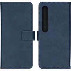 iMoshion Luxe Booktype Xiaomi Mi 10 (Pro) - Donkerblauw