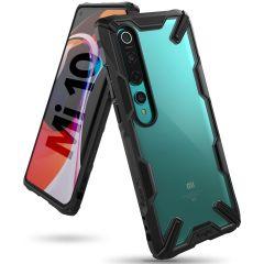 Ringke Fusion X Backcover Xiaomi Mi 10 (Pro) - Zwart