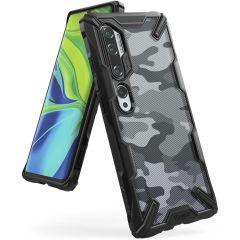 Ringke Fusion X Design Backcover Xiaomi Mi Note 10 (Pro) - Camo