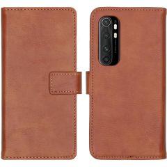 iMoshion Luxe Booktype Xiaomi Mi Note 10 Lite - Bruin