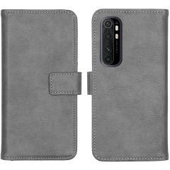 iMoshion Luxe Booktype Xiaomi Mi Note 10 Lite - Grijs