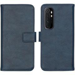 iMoshion Luxe Booktype Xiaomi Mi Note 10 Lite - Donkerblauw