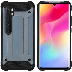 iMoshion Rugged Xtreme Backcover Xiaomi Mi Note 10 Lite - Donkerblauw