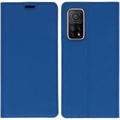iMoshion Slim Folio Book Case Xiaomi Mi 10T (Pro) - Donkerblauw