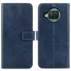 iMoshion Luxe Booktype Xiaomi Mi 10T Lite - Donkerblauw
