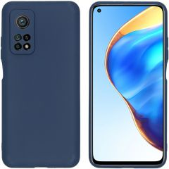 iMoshion Color Backcover Xiaomi Mi 10T (Pro) - Donkerblauw