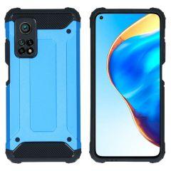 iMoshion Rugged Xtreme Backcover Xiaomi Mi 10T (Pro) - Lichtblauw