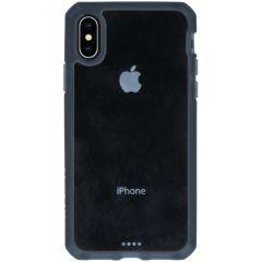 Itskins Hybrid MKII Backcover iPhone Xs / X - Zwart / Transparant