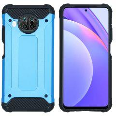 iMoshion Rugged Xtreme Backcover Xiaomi Mi 10T Lite - Lichtblauw