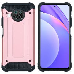 iMoshion Rugged Xtreme Backcover Xiaomi Mi 10T Lite - Rosé Goud