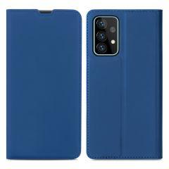 iMoshion Slim Folio Book Case Galaxy A52 (5G) / A52 (4G) -Donkerblauw