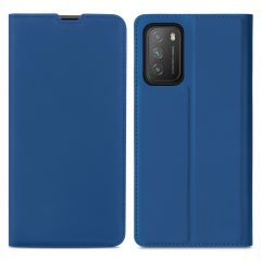 iMoshion Slim Folio Book Case Xiaomi Poco M3 - Donkerblauw