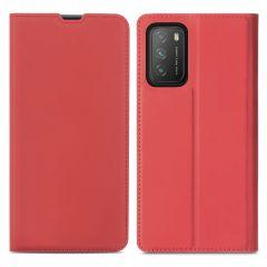 iMoshion Slim Folio Book Case Xiaomi Poco M3 - Rood