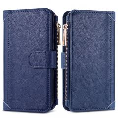 iMoshion Luxe Portemonnee Samsung Galaxy A72 - Donkerblauw