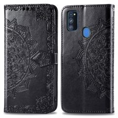 iMoshion Mandala Booktype Samsung Galaxy M30s / M21 - Zwart