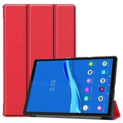 iMoshion Trifold Bookcase Lenovo Tab M10 Plus / M10 FHD Plus - Rood