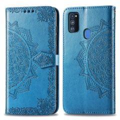 iMoshion Mandala Booktype Samsung Galaxy M30s / M21 - Turquoise