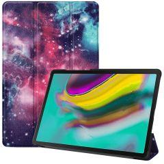 iMoshion Design Trifold Bookcase Samsung Galaxy Tab S5e
