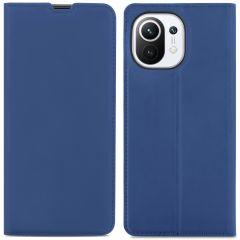 iMoshion Slim Folio Book Case Xiaomi Mi 11 - Donkerblauw