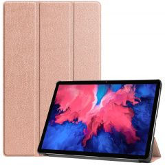 iMoshion Trifold Bookcase Lenovo Tab P11 - Rosé Goud