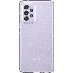Spigen Liquid Crystal Backcover Samsung Galaxy A72 - Crystal Quartz
