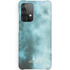 Selencia Fashion Backcover Galaxy A52 (5G) / A52 (4G) - Air Blue