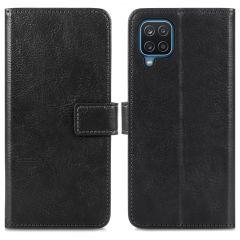 iMoshion Luxe Booktype Samsung Galaxy A12 - Zwart