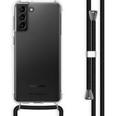 iMoshion Backcover met koord Samsung Galaxy S21 Plus - Zwart
