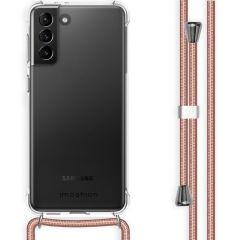 iMoshion Backcover met koord Samsung Galaxy S21 Plus - Rosé Goud
