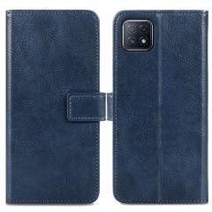 iMoshion Luxe Booktype Oppo A73 (5G) - Donkerblauw