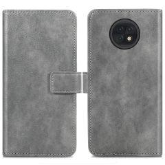 iMoshion Luxe Booktype Xiaomi Redmi Note 9T (5G) - Grijs