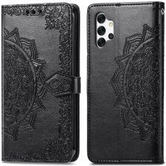 iMoshion Mandala Booktype Samsung Galaxy A32 (4G) - Zwart