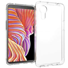 Accezz Clear Backcover Samsung Galaxy Xcover 5 - Transparant