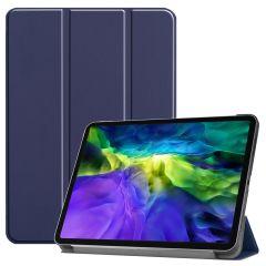iMoshion Trifold Bookcase iPad Pro 11 (2020-2018) - Donkerblauw