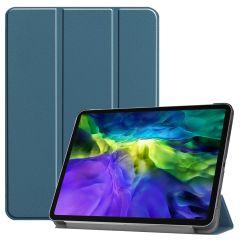 iMoshion Trifold Bookcase iPad Pro 11 (2020-2018) - Donkergroen