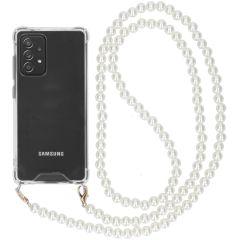 iMoshion Backcover met koord - Parels Samsung Galaxy A72