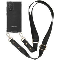 iMoshion Backcover met strap Samsung Galaxy A72 - Transparant