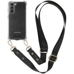 iMoshion Backcover met strap Samsung Galaxy S21 Plus - Transparant