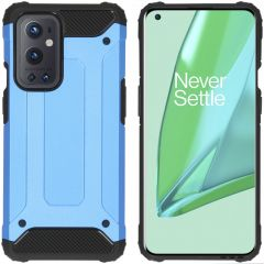 iMoshion Rugged Xtreme Backcover OnePlus 9 Pro - Lichtblauw