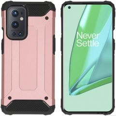 iMoshion Rugged Xtreme Backcover OnePlus 9 Pro - Rosé Goud