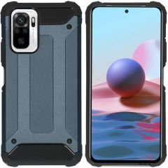 iMoshion Rugged Xtreme Backcover Xiaomi Redmi Note 10 Pro-Donkerblauw